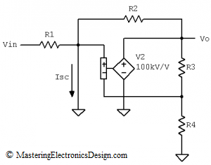 short circuit current current calculation