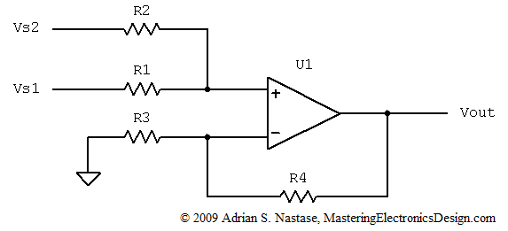 Summing Amplifier – Page 2 – Mastering Electronics Design