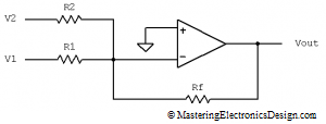 inverting_summing_amplifier_1
