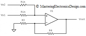 two-input-average-amplifier