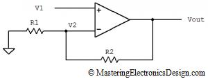 non-inverting-amplifier