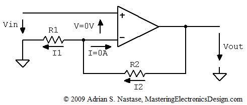 How to Derive the Non-Inverting Amplifier Transfer Function
