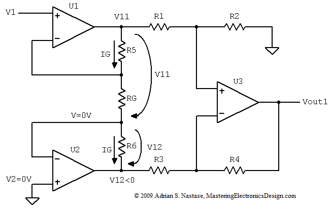 Sensational How To Derive The Instrumentation Amplifier Transfer Function Wiring 101 Capemaxxcnl