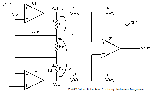 Astounding How To Derive The Instrumentation Amplifier Transfer Function Wiring 101 Capemaxxcnl