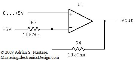 Design a Unipolar to Bipolar Converter for a Unipolar