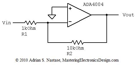 An Op Amp Gain Bandwidth Product – Mastering Electronics Design